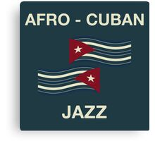 Afro cuban jazz Canvas Print
