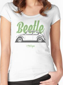 VW Beetle Classic Women's Fitted Scoop T-Shirt