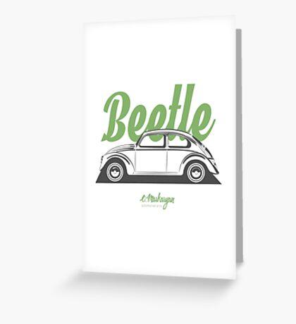VW Beetle Classic Greeting Card