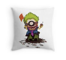 Minion Joker Throw Pillow