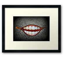 Rocky Horror-esque Framed Print