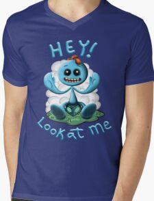 Meeseeks illustration Mens V-Neck T-Shirt