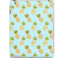 Watercolour Pineapples Pattern iPad Case/Skin