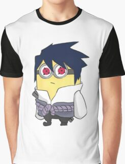 Minion Sasuke Graphic T-Shirt