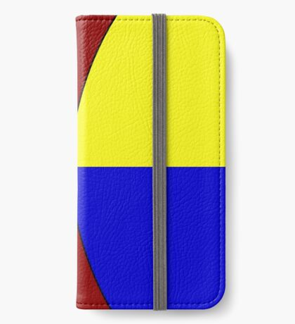 Primary Hourglass iPhone Wallet/Case/Skin