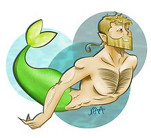 Nordic Merman by jefffam