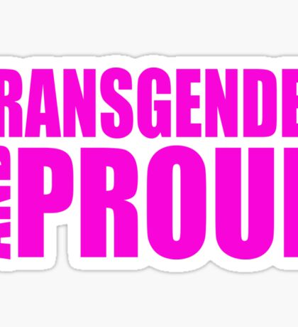 LGBT TransPride Shirts, Trans Lives Matter, Equality T-Shirts, gifts and pride swag Sticker