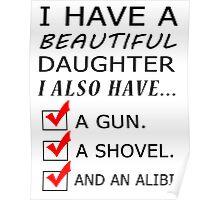 beautiful daughter Poster