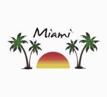 Miami Florida. Kids Tee