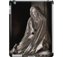 Hooded Girl with Rose iPad Case/Skin