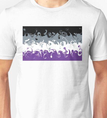 Swirly Ace Flag Unisex T-Shirt