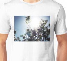 Apple Tree Sunburst in Color Unisex T-Shirt