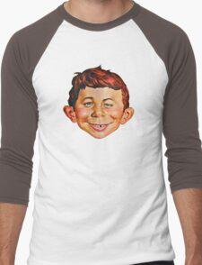 Alfred E. Neuman Men's Baseball ¾ T-Shirt
