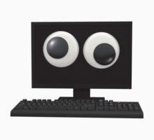 Googly-Eyed Computer Kids Tee