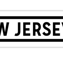 New Jersey Lite Sticker