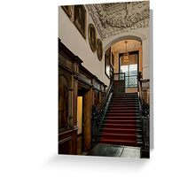 Astley Hall-Stairs Greeting Card