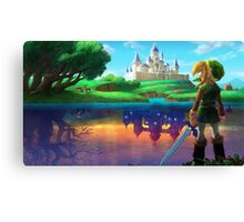 A Link Between Worlds! Canvas Print