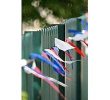 Jubilee Fence Photographic Print