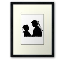 Hazel and Augustus Framed Print