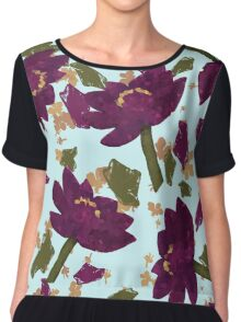 Floral Explosion Chiffon Top