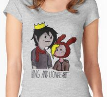 Fionna and Marshall Lee (King and Lionheart) Women's Fitted Scoop T-Shirt