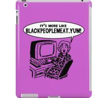 Black People Meet dot com iPad Case/Skin