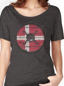 Danish Viking Shield Women's Relaxed Fit T-Shirt