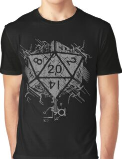 D20 Of Power Graphic T-Shirt