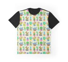 Succulents and Cacti Graphic T-Shirt