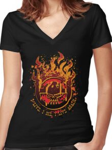 Fury Road Women's Fitted V-Neck T-Shirt