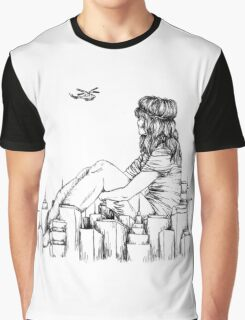 Longing for an Escape Graphic T-Shirt