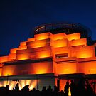 Bendigo Great Stupa-Festival of Light by Russell Voigt