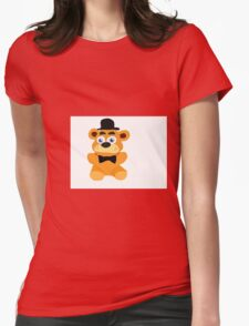 Freddy plush Womens Fitted T-Shirt