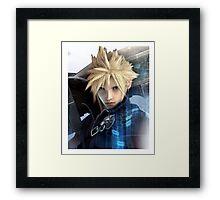 Cloud   Final Fantasy VII Framed Print