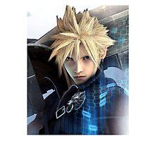 Cloud   Final Fantasy VII Photographic Print