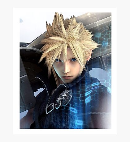 Cloud | Final Fantasy VII Photographic Print