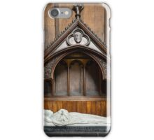 Carlisle Cathedral tomb iPhone Case/Skin