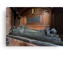 Carlisle Cathedral-Tomb(Harvey Goodwin,full view) Canvas Print