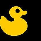 Yellow Rubber Duck by XOOXOO