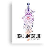 Final Adventure Canvas Print