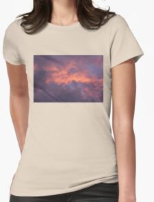 Cotton Sky Womens Fitted T-Shirt
