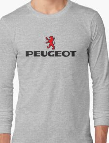 PEUGEOT RED Long Sleeve T-Shirt