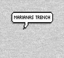 Marianas Trench Pixel Speech Bubble Unisex T-Shirt