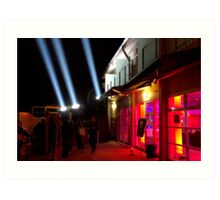 Red Light District - Dark Mofo 2014 Art Print