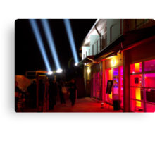 Red Light District - Dark Mofo 2014 Canvas Print