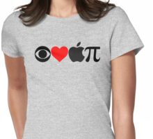 I Love Apple Pie Womens Fitted T-Shirt