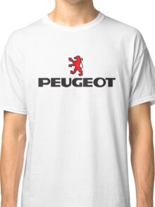 PEUGEOT WITH RED LION Classic T-Shirt