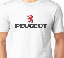 PEUGEOT WITH RED LION Unisex T-Shirt