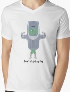 Don't Skip Leg Day Mens V-Neck T-Shirt