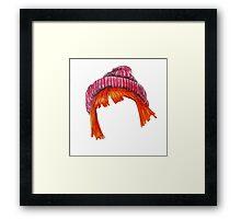 Hayley Wiliiams Hair Beanie  Framed Print